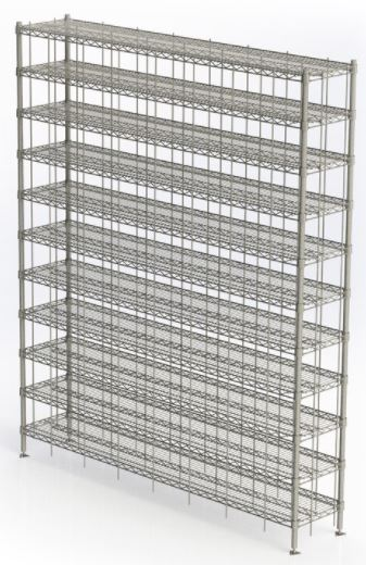 stainless steel shoe racks for cleanrooms